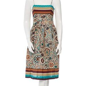 NWT David Meister Multi-colored Autumn Dress
